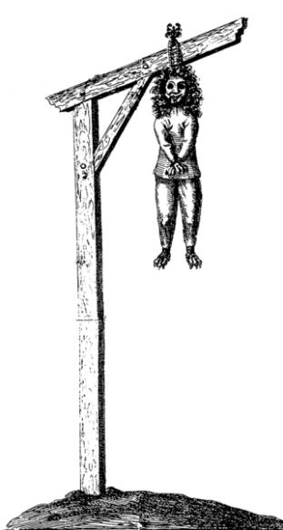 Werewolf is hanged