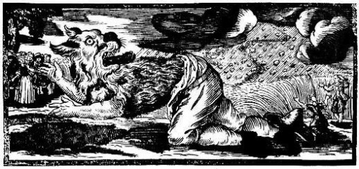 Werewolves were often portrayed as huge monsters