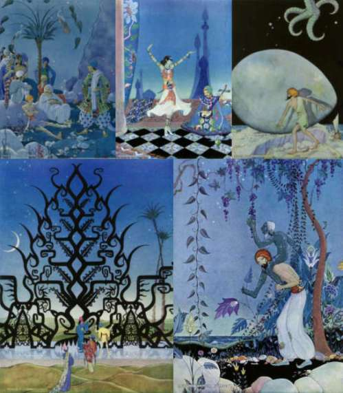 Virginia Frances Sterrett - Arabian Nights (5 color plates)