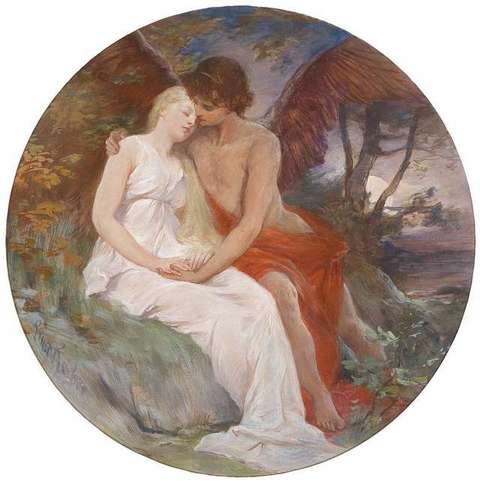 eros and psyche by roeber
