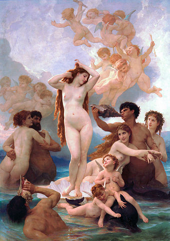 the birth of venus painting