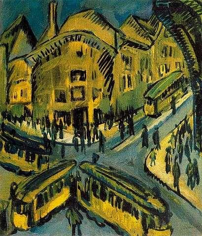 Ernst-Ludwig-Kirchner-the-street