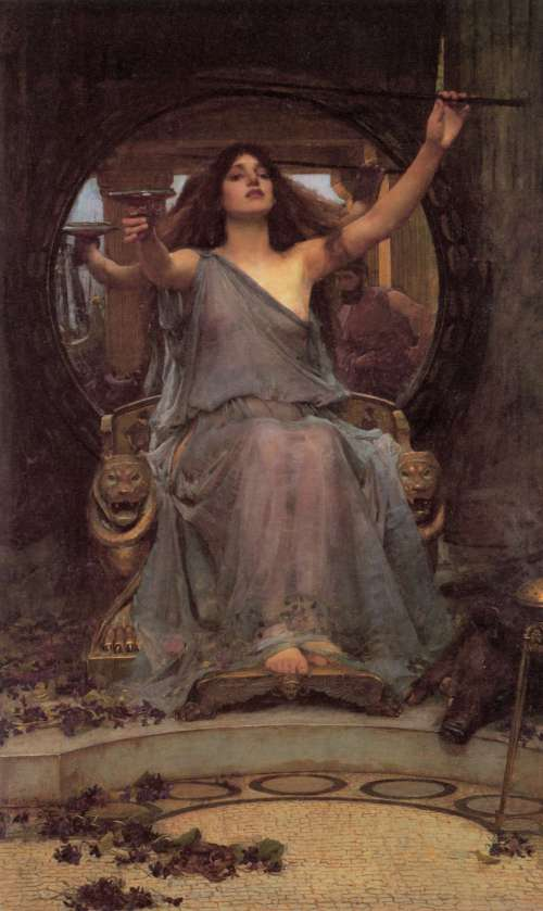 circe john william waterhous