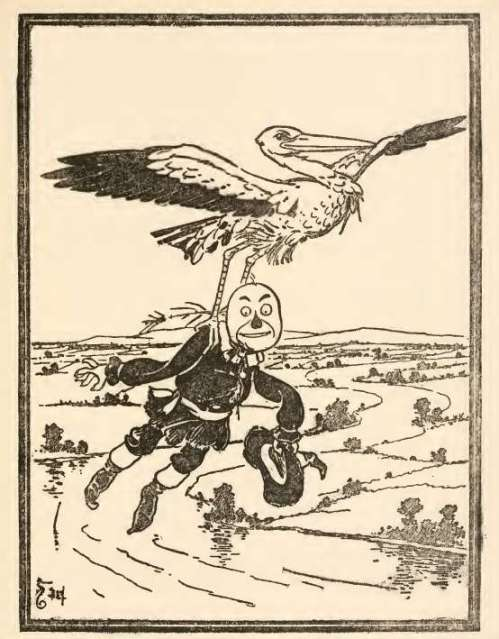 stork-with-scarecrow