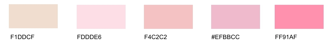 Pink Tones List Of Different Shades With Names Many