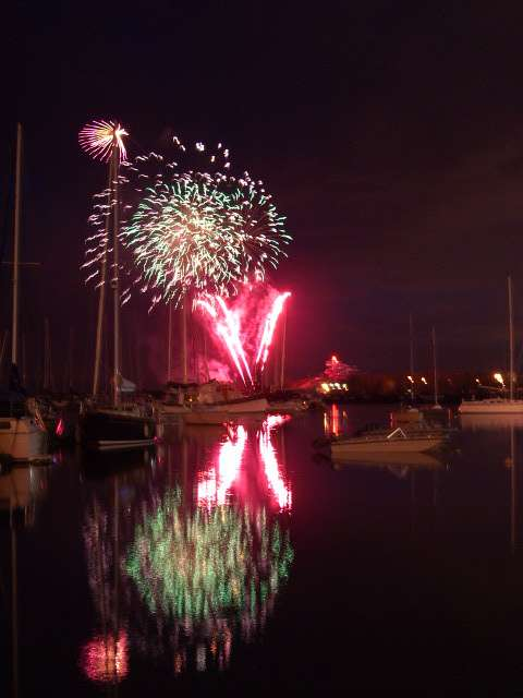 Fireworks at Victoria Day