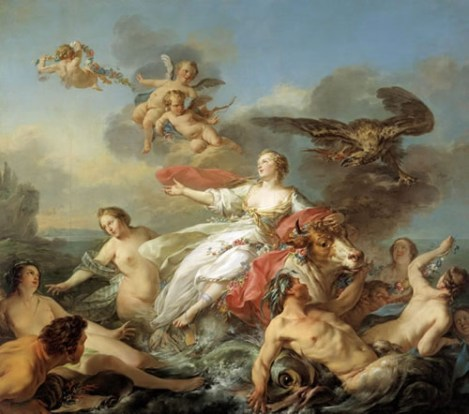 abduction of europa