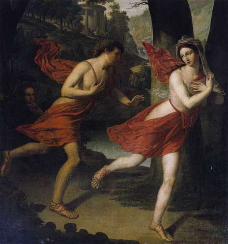 daphne and apollo by lefevre
