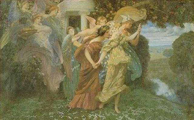 marriage of persephone by henry siddons mowbray