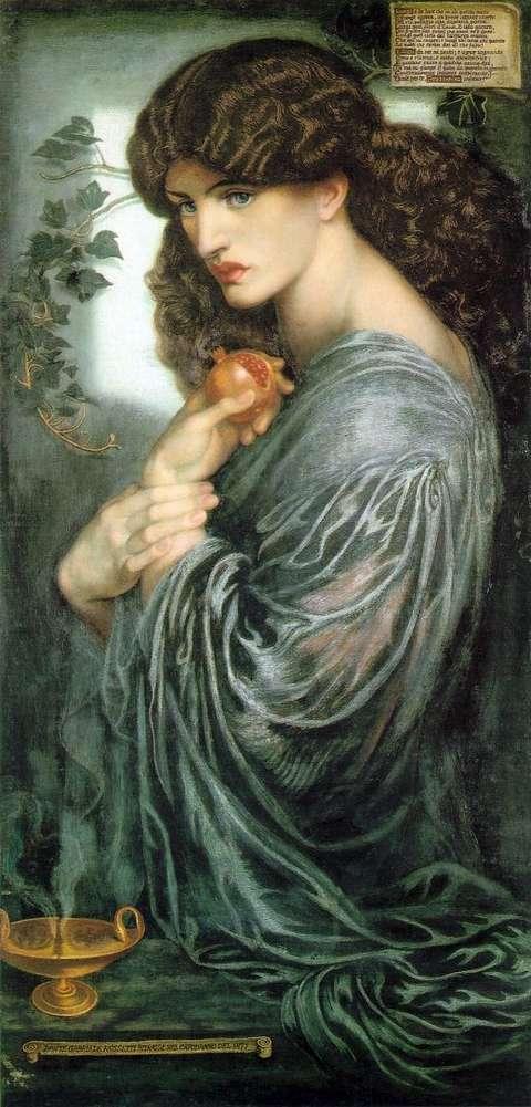Persephone by Dante Gabriel Rossetti