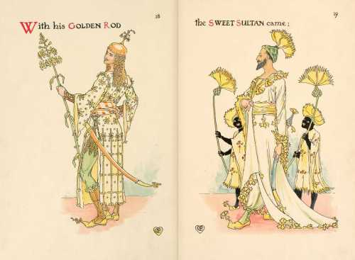 walter-crane-illustration-from-a-flower-wedding