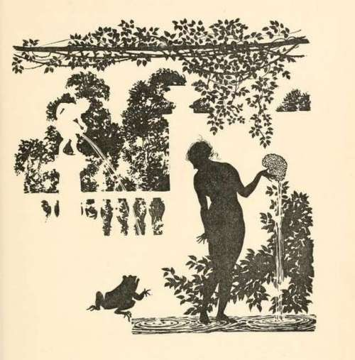 sleeping-beauty-arthur-rackham-silhouette-illustration