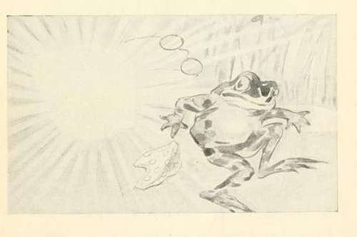 the-ox-and-the-frog-oliver-herford-drawing