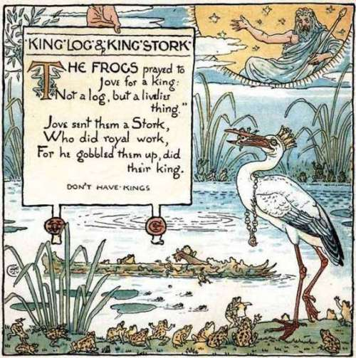king-log-walter-crane-illustration