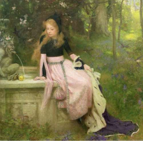 the-princess-and-the-frog-william-robert-symonds-painting